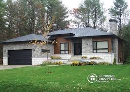 ranch style bungalow house plan w3280 detail from drummondhouseplans com