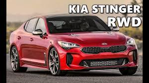 Kia Rwd Kia Stinger Rwd 2018 Drive Exterior Interior