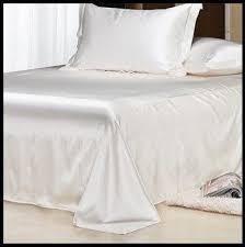 White Silk Bedding Sets Shop Luxury White Bedding Set Silk Sheets
