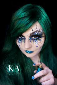 Halloween Makeup Mermaid Blessed Samhain Mermaidmondays Evil Fairy Fairy Makeup And