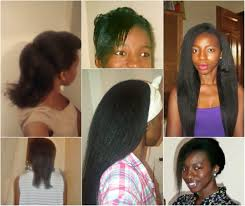 texlax hair styles for mature afro american women feature how she grew from neck length to waist length