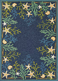 Couristan Runners Outdoor Escape Collection Sea Water