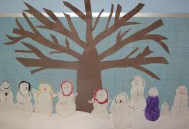 metamora community preschool snowmen and dinosaurs our winter