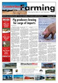 canterbury farming february 2014 by northsouth multi media ltd