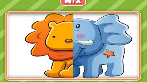 baby play animal match up learning puzzle matching