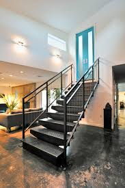 Industrial Stairs Design Nice Garage Staircases
