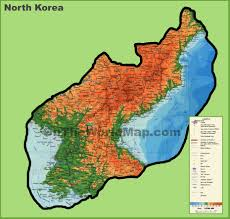 North America Map Detailed by North Korea Maps Maps Of North Korea Dprk