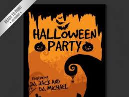 Happy Halloween Poster Template Vector Free Vectors Ui Download