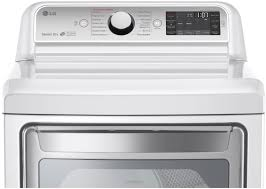 lg white turbosteam electric dryer dlex7600we