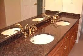 Granite Countertops For Bathroom Vanity by Tan Brown Bathroom Vanity Granite Countertop View Brown