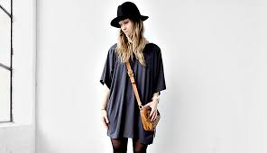 kimono style cardigan that when reversed is a chic shift dress what
