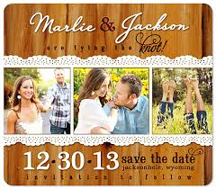 rustic save the dates rustic country western save the date wedding magnets