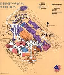 Studio City Map Maps The Disney Mgm Studios 1989 Progress City U S A
