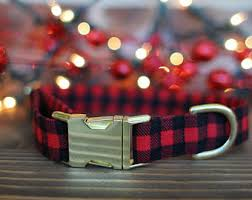 large christmas christmas dog collar etsy