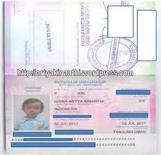 buat paspor online bayi syarat pembuatan paspor untuk anak my new world