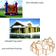 inflatable habitation for terrain or space use create the