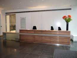 Concrete Reception Desk Amercian Black Walnut And Cast Concrete Reception Desk Jpg 640