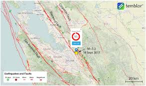 San Jose Map by M U003d3 3 Earthquake Shakes San Jose Temblor Net