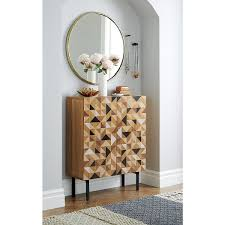 triad cabinet geometric form clutter and modern cabinets
