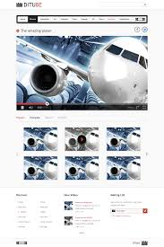templates for video website video streaming website template psd download download psd
