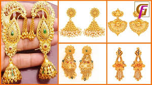 stylish gold earrings 13 best gold fashion images on gold fashion