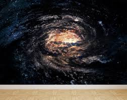 galaxy wall mural wall mural spiral galaxy in space peel and stick repositionable