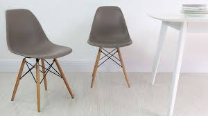 chaise type eames eames dining chair high quality uk fast delivery with regard