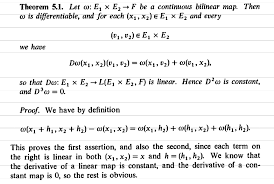 bilinear map calculus smoothness of continuous bilinear maps mathematics