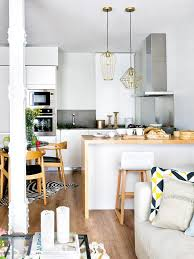salon cuisine am icaine bar de sparation cuisine salon trendy deco meuble tv with salon