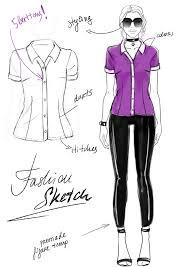 fashion sketch vs fashion illustration vs flats i draw fashion