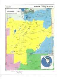 Map Of St George Utah by Elder Chad Davis Elder Davis Arrived In St George