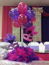 Eiffel Tower Party Decorations Balloon Centerpiece With Masks Centerpieces Pinterest