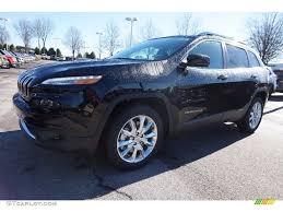 jeep limited black 2016 brilliant black crystal pearl jeep cherokee limited