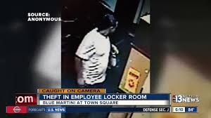 blue martini man caught stealing from blue martini employees caught on camera