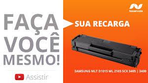 Top Recarga de Toner Samsung MLT-D101S - ML 2165 SCX 3405 3400 - Vídeo  @OB88