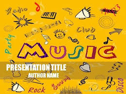 music mood powerpoint template demplates