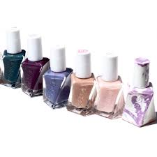essie gel couture nail polish 10 sheer fantasy swatch first