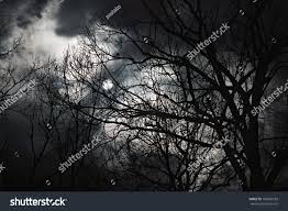 halloween abstract halloween abstract scenery full moon behind stock photo 106856183