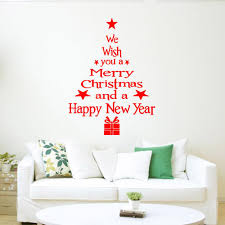 Christmas Decor For Home Christmas Decoration Wall Stickers Living Home Decor Christmas