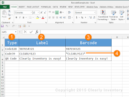 How To Put An Excel Table Into Word How To Print Barcodes With Excel And Word Clearly Inventory