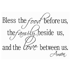 aliexpress com buy bless the food family love religious dining aliexpress com buy bless the food family love religious dining room vinyl wall decal quote stickers mural art free shipping z2052 from reliable art of war