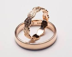 Wedding Rings His And Hers by Wedding Bands His And Hers Etsy