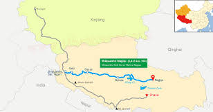 Brown Recluse Map Lhasa To Kashgar Overland Xinjiang Tibet Highway