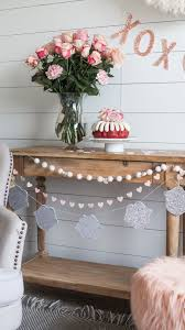 Valentines Day Table Decor by Simple And Easy Valentines Day Party Decor U2014 House Of Five