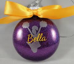 personalized ornament handmade with
