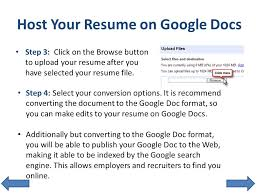Upload Your Resume Get Noticed With An Interactive Resume Ppt Download