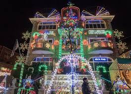 how long are christmas lights dyker heights christmas lights tour new york like a native tours
