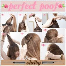 poof at the crown hairstyle perfect poof polyvore