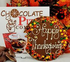 thanksgiving combo handmade chocolate pizza peanut butter wings