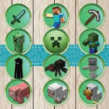 best 25 minecraft cupcake toppers ideas on pinterest minecraft